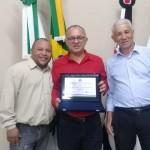 Benedito ,Pastor Valmir e vereador Joel Gomes